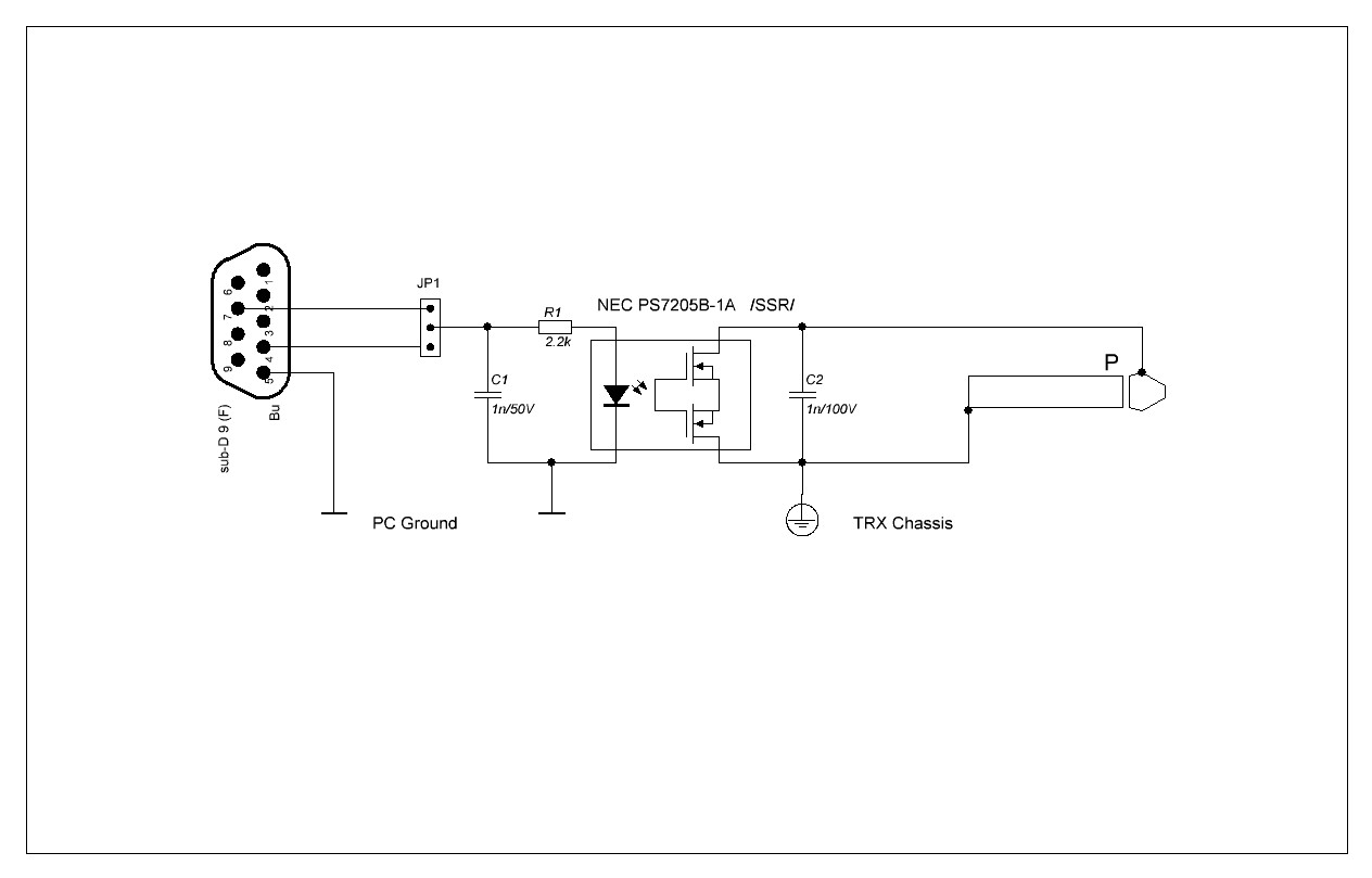 cw cable for hybrid transceivers using solid state relay \u2013 lz5zm